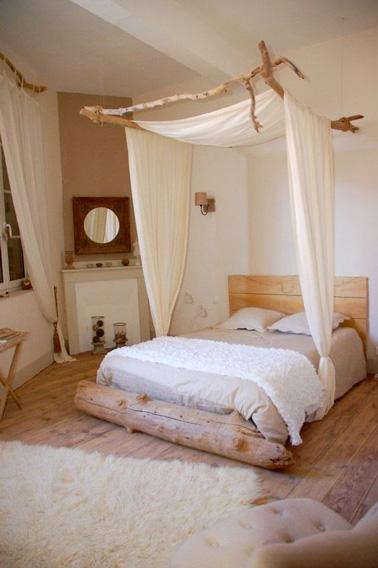 le ciel de lit pour une d co romantique de la chambre. Black Bedroom Furniture Sets. Home Design Ideas