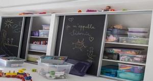 amenager un espace de repos dans la salle de jeux enfant. Black Bedroom Furniture Sets. Home Design Ideas