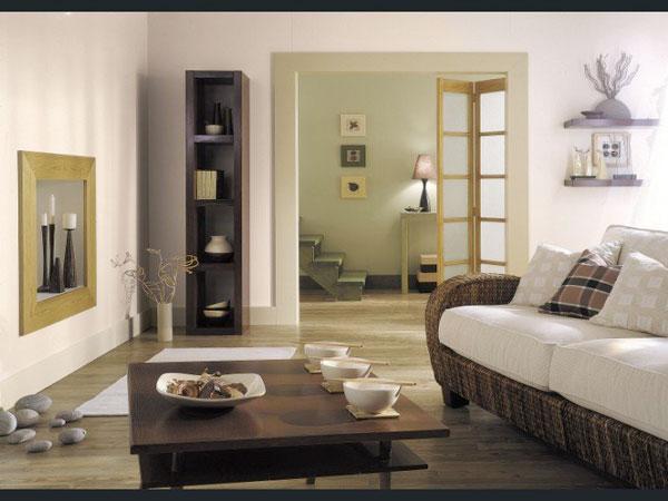 cr er une d co chic avec sa peinture salon deco cool. Black Bedroom Furniture Sets. Home Design Ideas