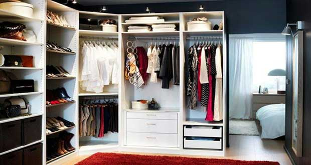 Dressing ikea bien calculer la dimension du dressing - Ikea rangement dressing ...