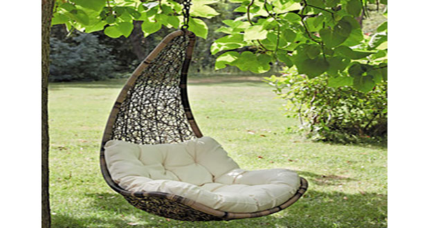 fauteuil suspendu bois. Black Bedroom Furniture Sets. Home Design Ideas