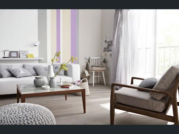 Cr er une d co chic avec sa peinture salon deco cool for Peinture salon moderne design