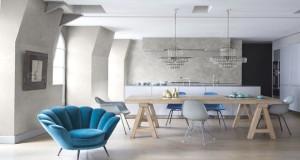 Le stuc c'est une idée déco originale et ultra chic pour un intérieur où l'élégance et la sophistication sont au rendez-vous avec des murs effet marbre !