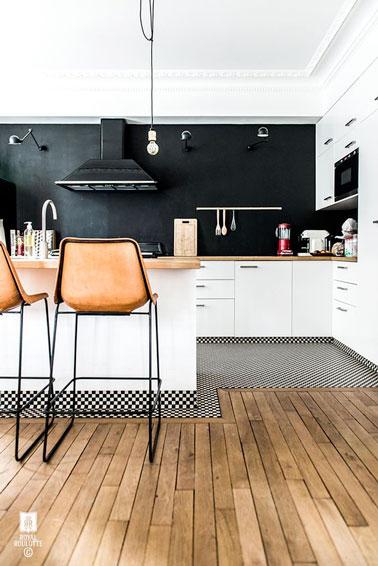 8 astuces pour embellir la d co de sa cuisine for Deco cuisine noire et blanche