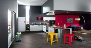 Déco Cuisine Idée Peinture, Carrelage, couleur et Meuble