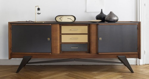 conseils d co pour patiner un meuble avec une peinture m tal. Black Bedroom Furniture Sets. Home Design Ideas