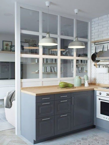 8 d co de cuisine inspir es par une verri re deco cool - Verriere keuken ...