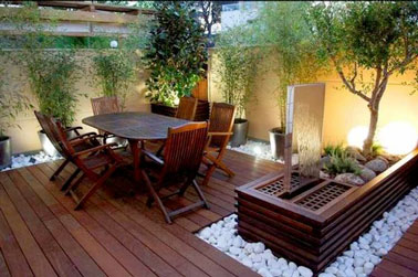 d co terrasse bois am nag e en petit jardin zen. Black Bedroom Furniture Sets. Home Design Ideas