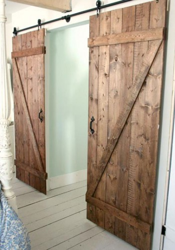 Fabriquer une double porte coulissante en bois - Fabriquer ses portes coulissantes ...