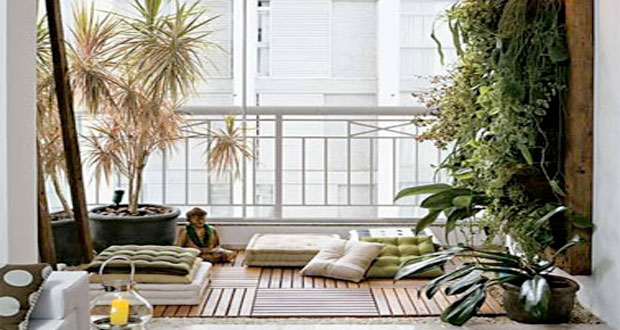 Am nager un coin de jardin zen sur le balcon for Decoration jardin balcon