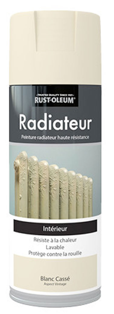 peinture en bombe radiateur haute r sistance rustoleum. Black Bedroom Furniture Sets. Home Design Ideas