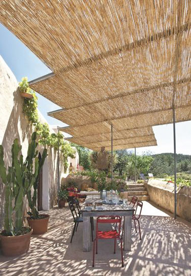 8 belles d co de terrasses abrit es par une pergola - Terras amenagee ...