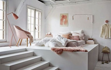 8 petites chambres la d co craquante for Chambre cocooning blanche
