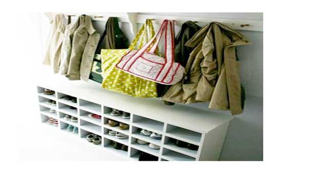 Astuce d co brico pour organiser le rangement des chaussures - Astuces de rangement maison ...