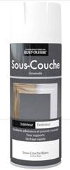 Sous-couche en bombe aérosol Rust-oleum, pour assurer une excellente adhérence des peintures en aérosol sur le bois, le métal, la céramique et autres surfaces.