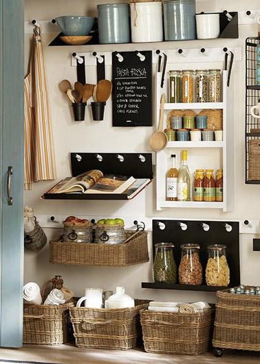 6 astuces rangement et gain de place dans une petite cuisine - Rangement pour petite cuisine ...