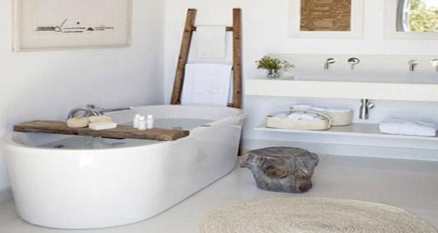 Des baignoires lots conciliant d tente et tendance d co for Salle de bain tendance zen