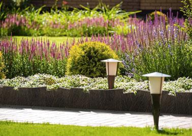 Bordures Groud Espaces Verts - Bordure Jardin Beton Imitation Bois ...
