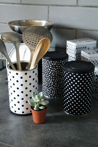 Diy r cup avec des bo tes de conserve en objets d co for Customiser des boites de conserves