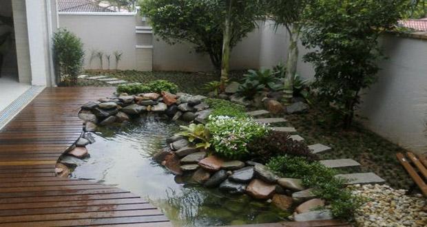 Id es de bassin de jardin pour dynamiser votre ext rieur - Idee deco exterieur jardin ...