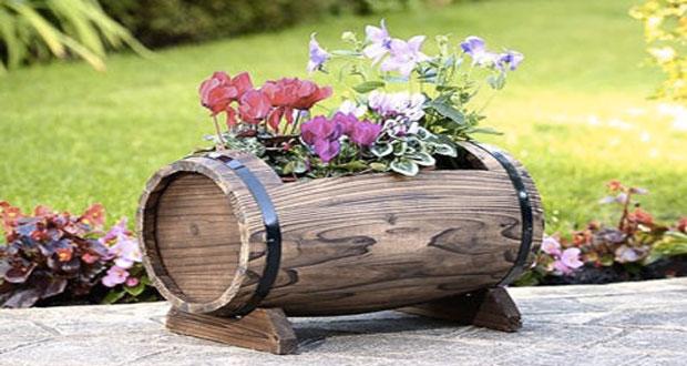 Id es d co faire avec un vieux tonneau de r cup for Astuce deco jardin recup