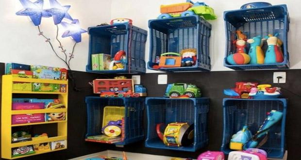 id es de rangements astucieux pour la salle de jeux des. Black Bedroom Furniture Sets. Home Design Ideas
