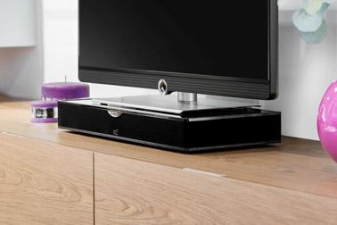 Pour améliorer considérablement la qualité et le son de la télévision voici un plateau sonore connecté et design qui vous changera la vie dans la maison !
