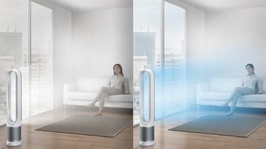 Pour un air pur et frais lors des fortes chaleurs, voici un ventilateur discret, design et esthétique qui vous procurera bien-être et apaisement à l'intérieur