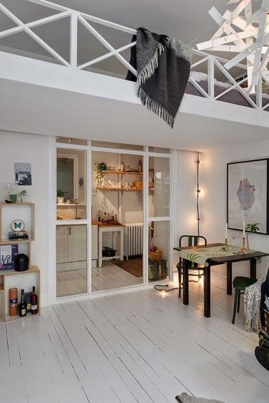 meuble rotin et bougies la deco scandinave a la cote. Black Bedroom Furniture Sets. Home Design Ideas