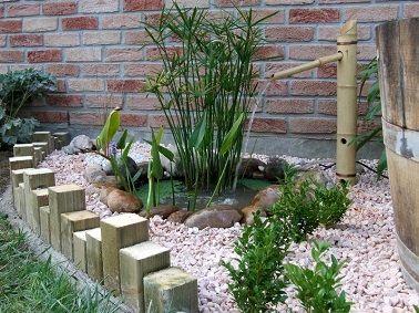 Point d 39 eau zen dans un coin du jardin for Coin zen dans jardin