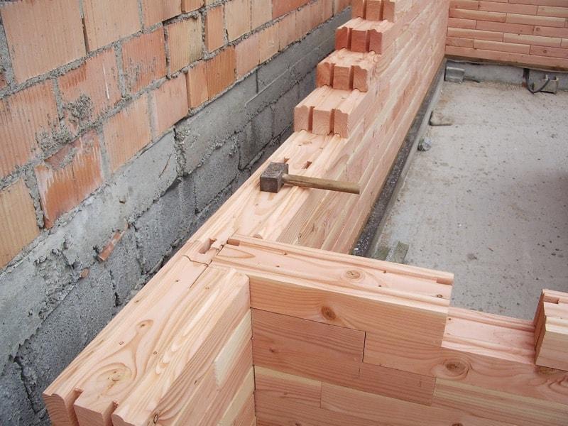maison en parpaings de bois | - Construction Terrasse En Bois Sur Parpaing
