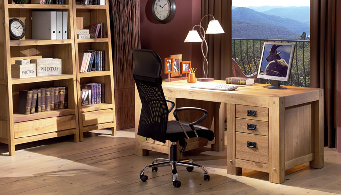 travailler chez soi un bureau la d co qui nous inspire. Black Bedroom Furniture Sets. Home Design Ideas