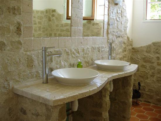 pierre salle de bain naturelle. Black Bedroom Furniture Sets. Home Design Ideas