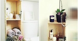 rangements malins pour aménager la salle de bain