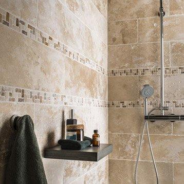 Pierre naturelle dans une douche