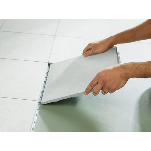 Comment r nover un pi ce sans se battre avec le carrelage for Carrelage clipsable leroy merlin