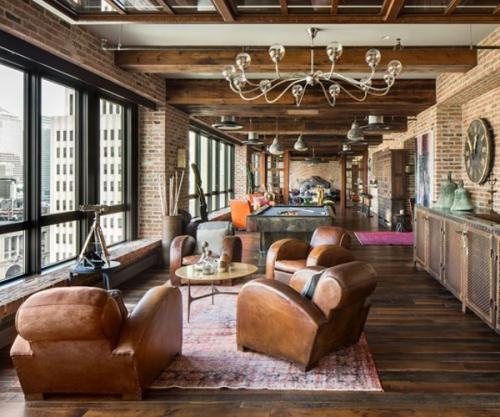 loft au style steampunk