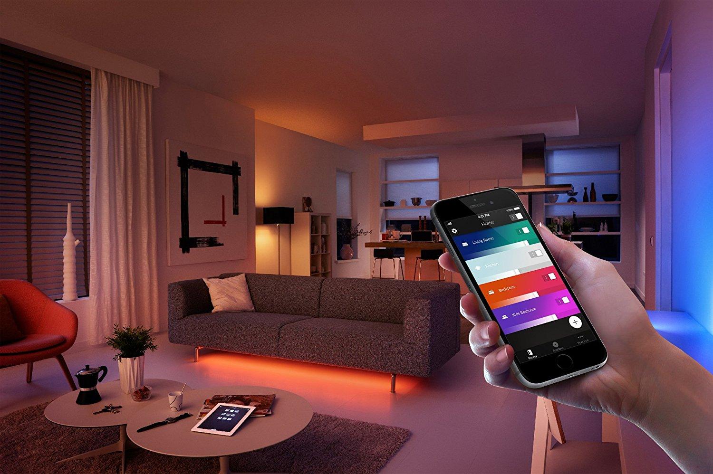 les ampoules connect es philips hue jusqu 39 50 pour le. Black Bedroom Furniture Sets. Home Design Ideas