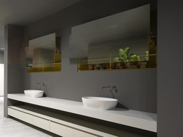 Des Miroirs Pour Une Jolie Déco Dans La Salle De Bains