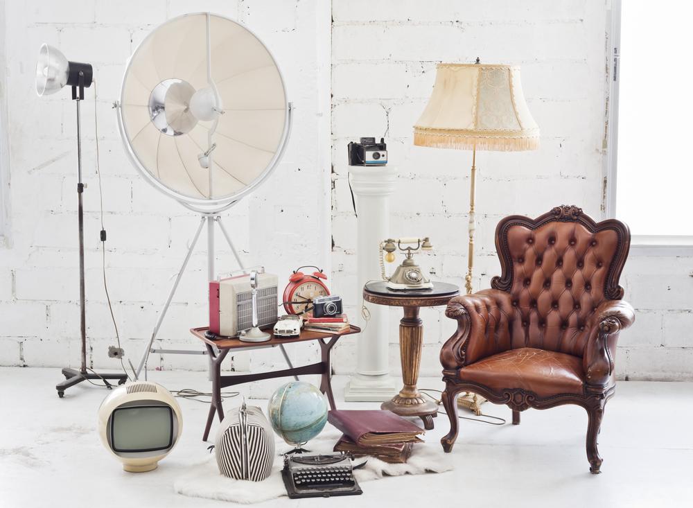Objets de décoration vintage